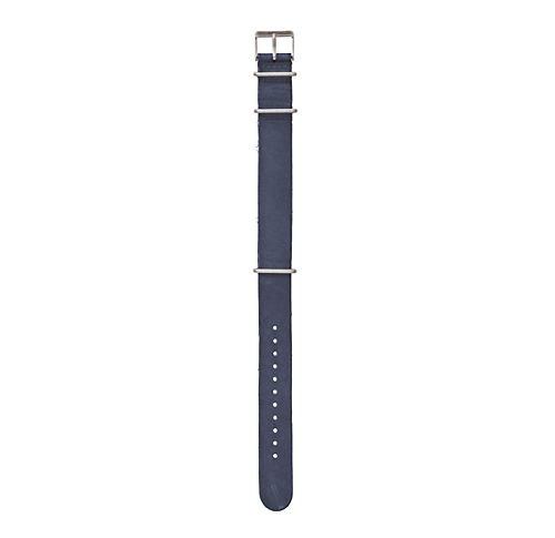 Timex Archive Pasek Strap Stone Washed Leather Blue - SS17