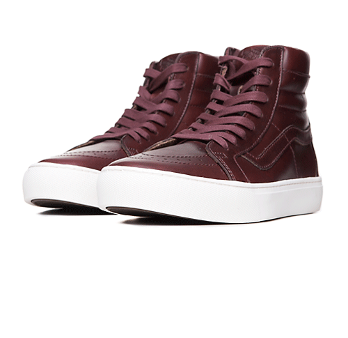 Vans Vault Buty Sk8-Hi Cup LX Horween Timber (VN0A2Y2ZKCE) - FW16